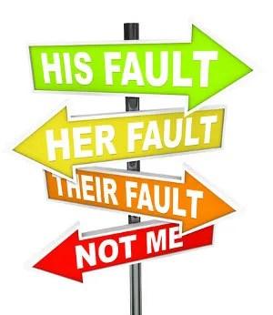 Not my fault! © Iqoncept   Dreamstime.com