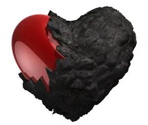 Divorce hardened heart © Sebastian Kaulitzki   Dreamstime.com