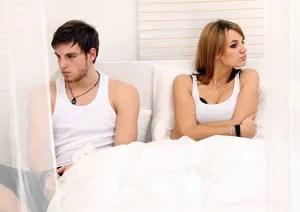 Sexless couple © Wernerheiber | Dreamstime.com