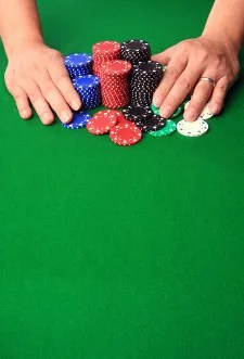 Betting all his chips © Photosoup | Dreamstime.com