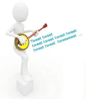 Dueling Tweets © Dny3dcom | Dreamstime.com