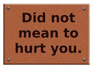 """""""Did not mean to hurt you."""" © OlenaAbazid   dreamstime.com"""