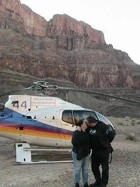 Helicopter in the Grand Canyon © Paul H. Byerly
