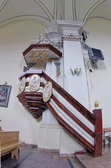 Fancy pulpit © Łukasz Rycąbel | Dreamstime.com