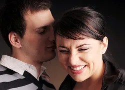 Whisper that brings a smile © Vojtech Vlk | Dreamstime.com