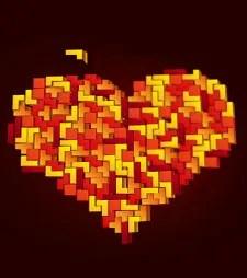 Tetris Heart © Gvito   Dreamstime.com