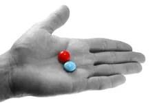 Red or blue pill? © Atlanthida | Dreamstime.com