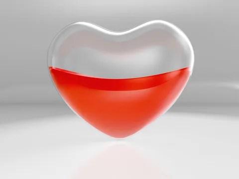 Half full heart © Chernetskiy | Dreamstime.com