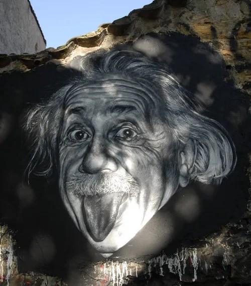 Albert Einstein © http://www.flickr.com/photos/home_of_chaos/