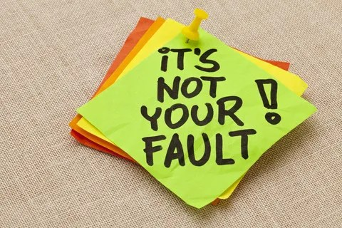 It's not your fault © Marek Uliasz | Dreamstime.com