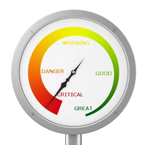 Marraige warning gauge  © Fabian Schmidt | Dreamstime.com