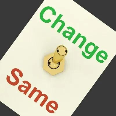Choose to change © Stuart Miles | freedigitalphotos.net