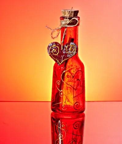 Love in a bottle © Petia Emilova   Dreamstime.com