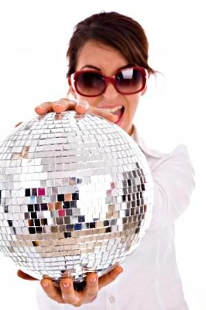 Lady with disco ball © imagerymajestic | freedigitalphotos.net