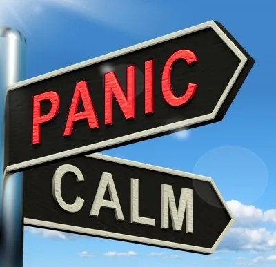 Panic or calm? © Stuart Miles | freedigitalphotos.net