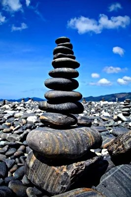 Stacked Stones © lkunl   freedigitalphotos.net