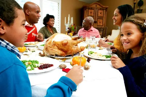 Thanksgiving Meal © Monkey Business Images | Dreamstime.com