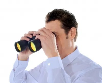 Man with binoculars © stockimages | freedigitalphotos.net