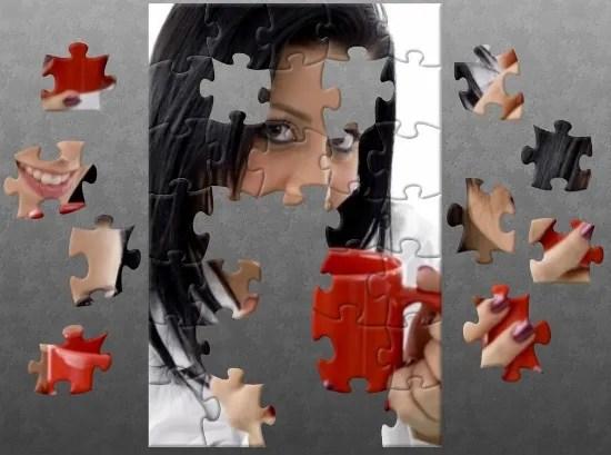 Puzzle of a Woman's Face © imagerymajestic   freedigitalphotos.net modified with http://www.jigsawplanet.com/