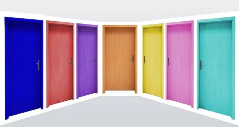 Choose a door © Casaalmare | Dreamstime.com