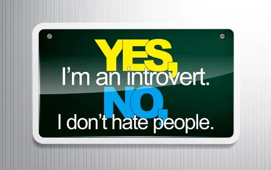 I'm an introvert; I don't hate people. © maxmitzu | dollarphotoclub.com