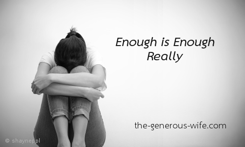 Enough is Enough, Really - A powerful message about abuse.