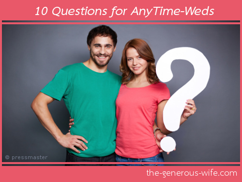 10 Questions for AnyTime-Weds
