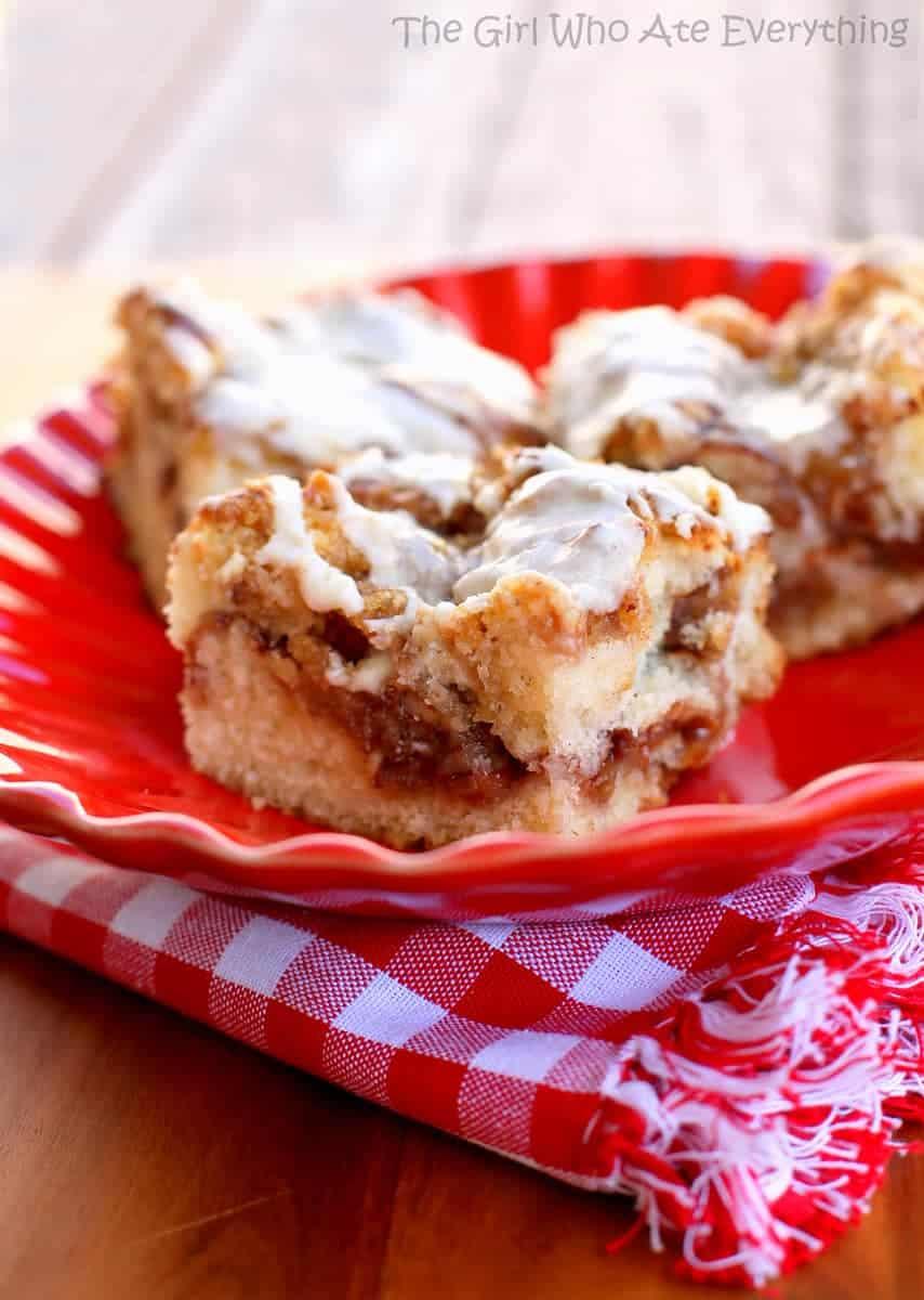 Apple Streusel Coffee Cake Dessert The Girl Who Ate
