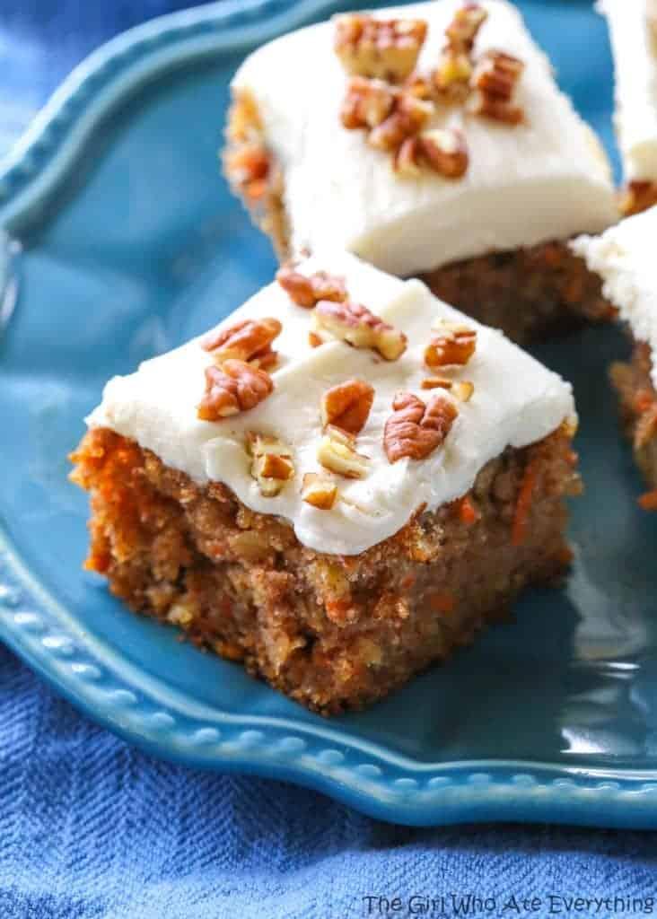 Moist Carrot Cake Recipe Easter Easy Dessert Nuts