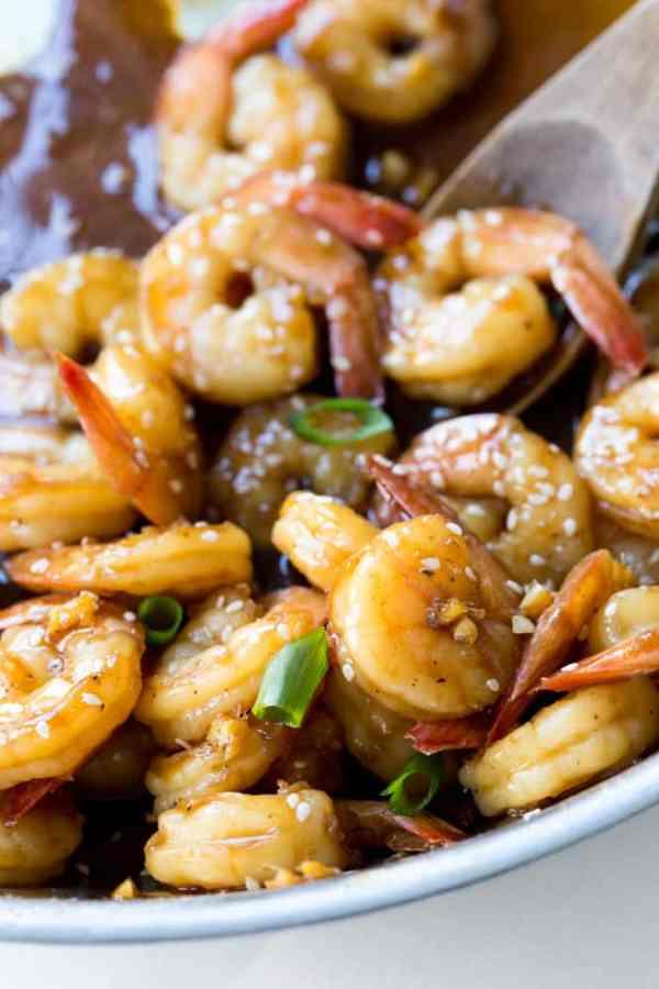 Easy Teriyaki Shrimp - The Recipe Critic