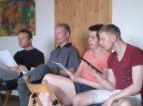 Dresdner Gospel Chor übt im Chorcamp