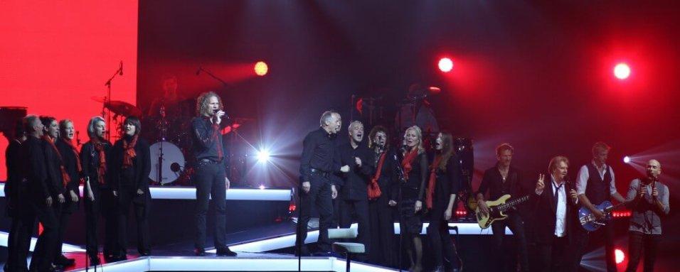Dresdner Gospel Chor hat Gastauftritt bei Howard Carpendale
