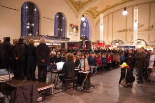 Dresdner Gospel Chor gibt Konzert im Neustädter Bahnhof
