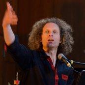 Markus Schurz von The Gospel Passengers im Konzert
