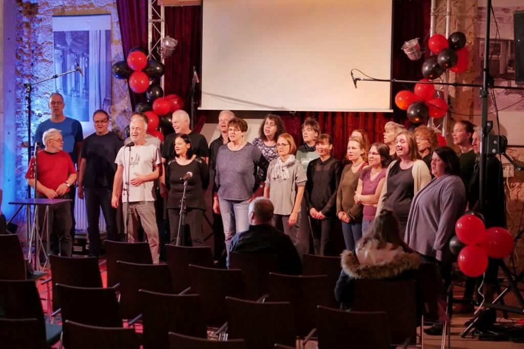 Dresdner Gospel Chor The Gospel Passengers Jubiläums-Gala -Einsingen