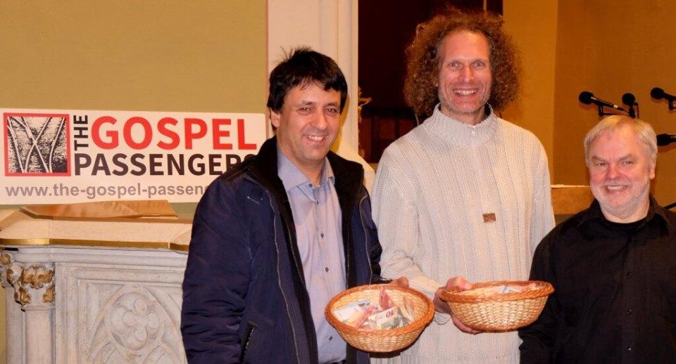 Dresdner Gospel Chor The Gospel Passengers singen für die Kinder von Europa - Benefizkonzert