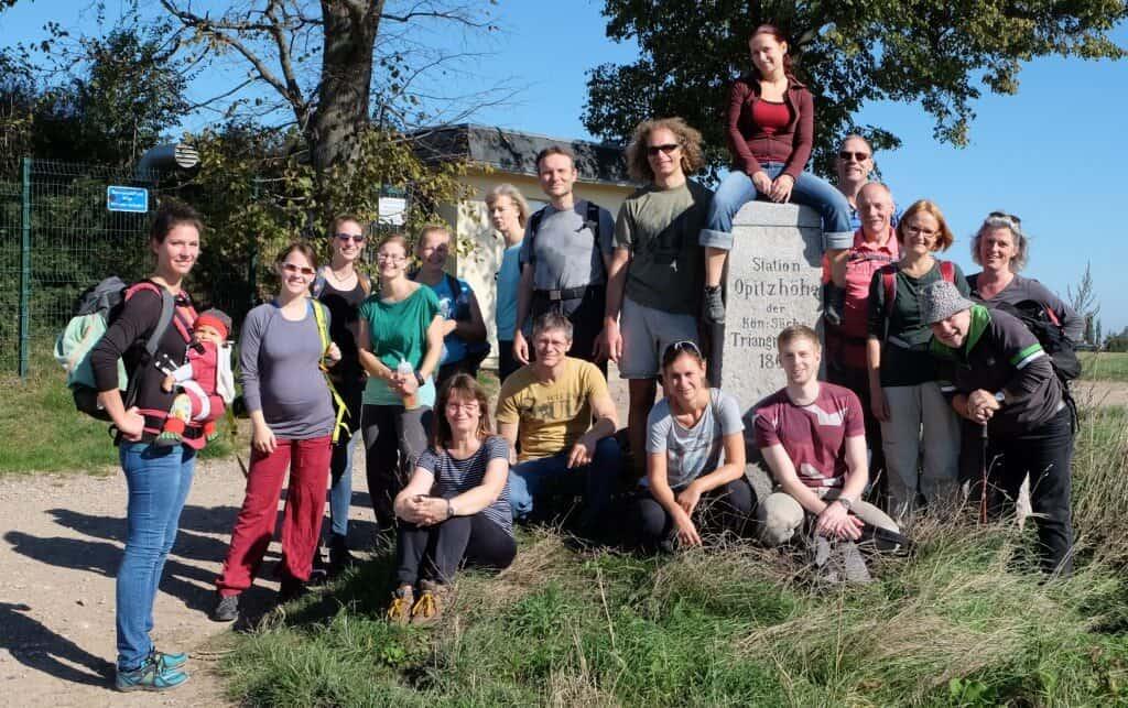 Dresdner Gospel Chor - Wandertag der Gospel Passengers 2015