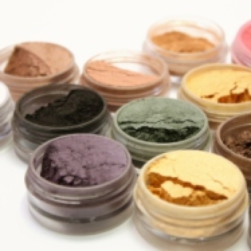 Collection of all natural cosmetics