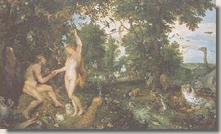 Rubens and Brueghel, The Garden of Eden