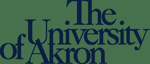 University of Akron wordmark