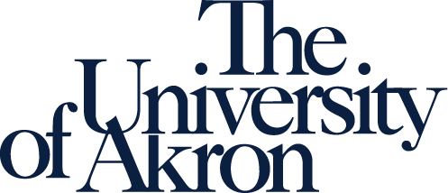 University of Akron wordmark