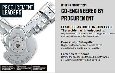 Co-engineered by Procurement cover