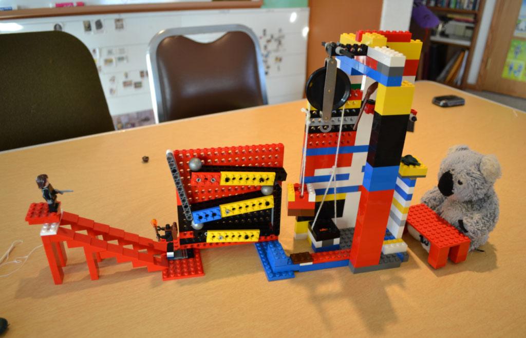 power of prototyping using Lego blocks
