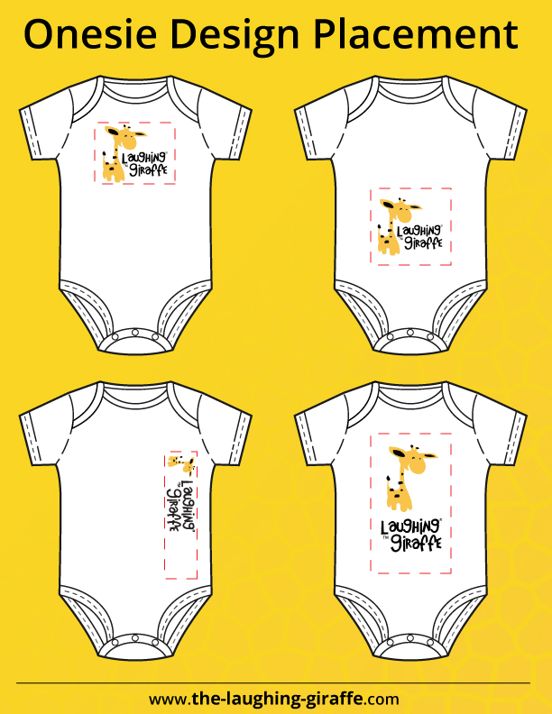 Download Free Baby Onesie Printable Template - SVG Files | The ...