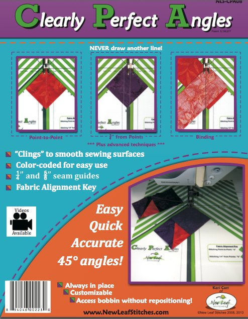 Quilt Making Basics – Clearly Perfect Angles Review