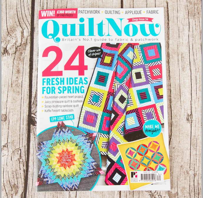 Quilt Now Issue 34
