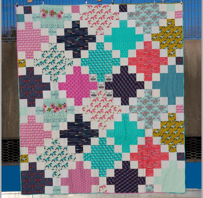 A Finish – And A Possible Big Print Quilt Option