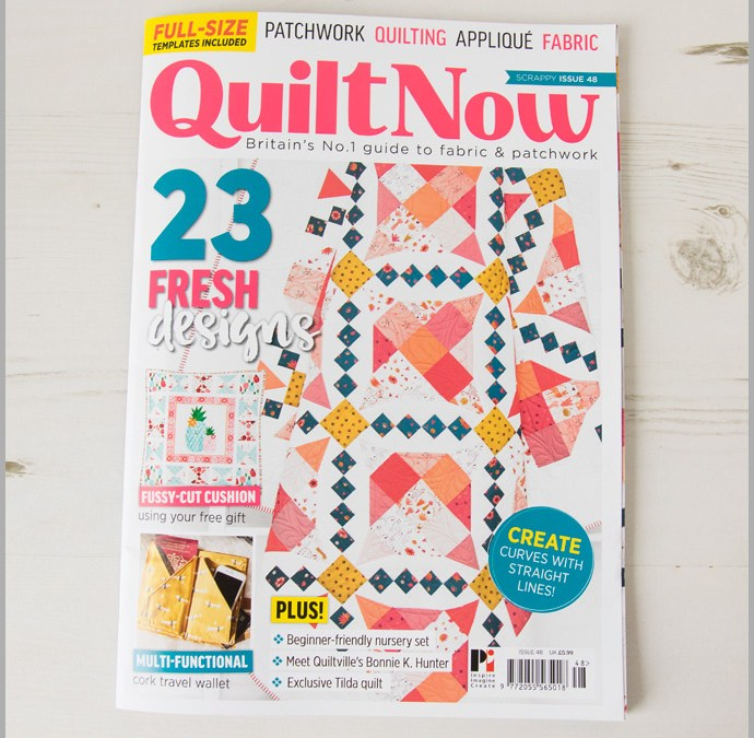 Quilt Now Issue 48 – Passport & Travel Document Wallet