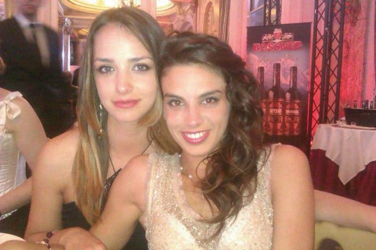 Irene-e-l'amica-Renata-Malinconico-alla-cena-di-beneficienza-al-Carlton
