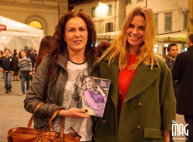 filippa lagerback e Giovanna Rossi a Città di Castello